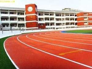 广东 东莞全塑型塑胶跑道生产 混合型塑胶跑道销售 透气型塑胶跑道施