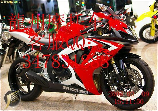 供应2008铃木GSX R600 摩托车高清图片